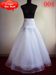 Wholesale In Stock Cheap Crinoline Petticoat A Line Wedding Accessory Simple