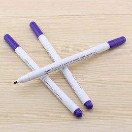 2017 pens ink vanishes Wholesale-HIGH QUALITY VIOLET DISAPPEARING VANISHING INK PEN MARKER 1PCS MADE IN JAPAN pens ink vanishes outlet