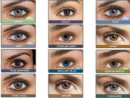 Wholesale High Quality Freshlook Color Lenses12 colors tone Colored Contact Lenes Freshlook Contact Lens pair Wholesales DHL