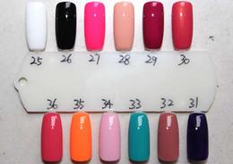 Wholesale Fashion op Nail Polish Lacquer Candy Color Easy Day Enamel Polish Nail Art Decoration Nails Nail Lacquer Nail Art Salon Gel colors