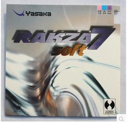 Yasaka Soft 7 de tennis de table de haute qualité caoutchouc Ping Pong caoutchouc pour lame / Bat / plaque de base