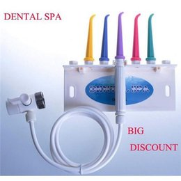 Wholesale Irrigator Dental SPA Unit Teeth Cleaner Cleansing Teeth Dental Water Jet Home Tooth SPA Portable Dental Care Device Whitening Tool