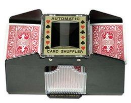 Cartes de jeu automatiques Shuffler Poker Casino One / Two Deck Card Shuffle Sorter