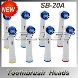 Wholesale New for SB A D White Electric Sonic Soft Brush Toothbrush Heads Replacement Clean