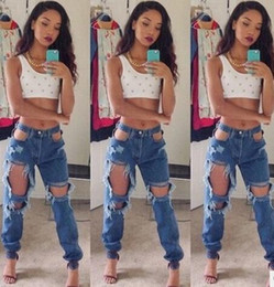 Ripped Jeans Light Blue Big Online  Ripped Jeans Light Blue Big