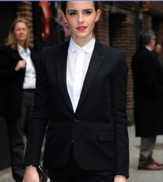 Wholesale Women Business Suits Custom made Black Plus Size Women Formal Office Uniform Style Work Suit