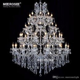 Magnificent Chandelier Online Shopping ca10003 Online Shopping Luxurious Maria Theresa Chandelier Light Fxiture Clear Crystal Hanging Lampn Large Lustres De Cristal
