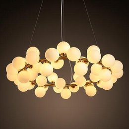 2016 new round bubble g4 led chandelier lamp light lighting fixture modern lustre chandelier lighting 25 lamp 45 lamp free shipping bubble lighting fixtures