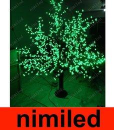nimi664 LED árbol de la flor 1024pcs luz bombillas LED de 6 pies / 1,8 m de altura Navidad de la boda al aire libre a prueba de lluvia Patio jardín del césped de la lámpara