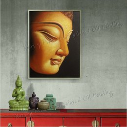 handmade canvas wall art religion buddha oil painting on canvasr modern home decoration art pictureno frame