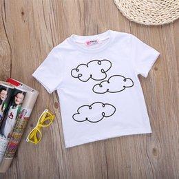 Wholesale 2016 Cute Kid Shirts Boys Tops Shirt Cool Boys Clothes Toddlers Boys Girls Tee Shirts