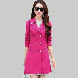 Discount Plus Size Ladies Trench Coat | 2016 Plus Size Ladies