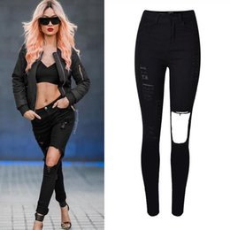 Ripped Boot Cut Jeans Online   Ripped Boot Cut Jeans for Sale