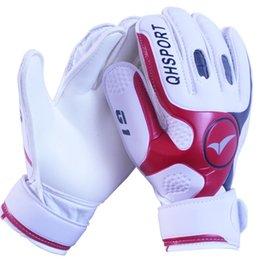 Brand профессиональный футбольный вратарь перчатки 4мм латексные перчатки хранитель палец двойной защиты вратарские перчатки размер 9