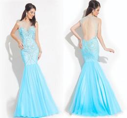 Discount Sequin Aqua Mermaid Prom Dress | 2017 Sequin Aqua Mermaid ...