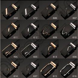 Homens Automatic fivela de cinto cinta cintura couro Belt Fashion Business Casual All-jogo Cintura 52 projetos LJJO890