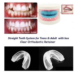 Wholesale Factory Professional Dental Orthodontic Straight Teeth System Teens Adult Invisible orthodontic braces Fast