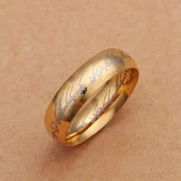 2016 sale new rings gold jewelry acessorios couple rings anel masculino for men factory price - Gold Wedding Rings For Men