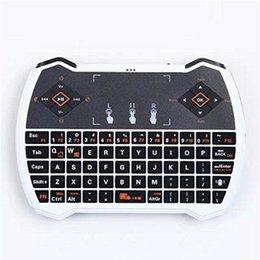 Rii i28-1 K28-1 V6A R6 Мини Беспроводная клавиатура 2.4G с сенсорной панелью для MXQ Pro M8S S905 Android TV Оптовая торговля