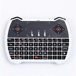 Rii i28-1 K28-1 V6A R6 Mini clavier sans fil 2.4G avec clavier tactile pour MXQ Pro M8S S905 Android TV en gros