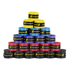 Fangcan marca de alta calidad antideslizante pesca sobre sobregrip tenis badminton raqueta agarre, colores surtidos para elegir