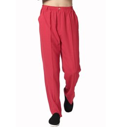 Discount Men Red Linen Pants | 2017 Men Red Linen Pants on Sale at ...