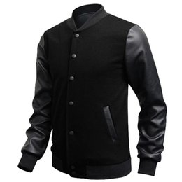 Discount Leather Men S Bomber Jackets | 2017 Men S Leather Bomber ...