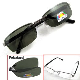 polarized reader sunglasses nfh6  Magnetic Sunglasses Clip-on Polarized Spectacles Shade Sun Glasse Silvery  White Black Metal Glasses Frame Eyewear Point to Read Driving 570 reading