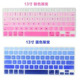 2016 Retail Silicone Keyboard Protector Skin Cover Para Macbook Pro Air Mac Retina Teclado Covers 11 12 13 15 17inch