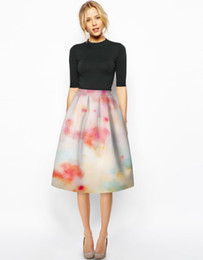 Midi Swing Skirt Online | Midi Swing Skirt for Sale