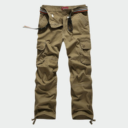 Discount Mens Army Style Cargo Pants | 2017 Mens Army Style Cargo ...