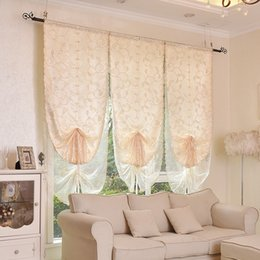 New Arrival Roman Blinds Short Curtain Curtains For Kitchen Coffee Tulle Yarn Sheer Curtains Curtains For Skylight