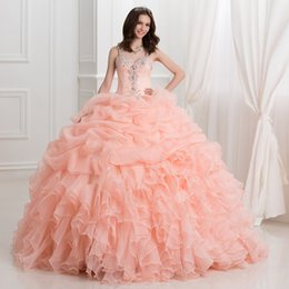 Discount Quinceanera Dresses Coral Red | 2017 Coral Red Strapless ...