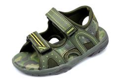 As crianças sandálias das crianças dos estilos verão 2016 tamanho confortável das sandálias do miúdo eur27-29