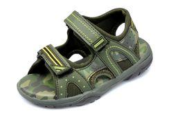 Las sandalias 2016 de los niños de los estilos calzan tamaño cómodo de las sandalias del cabrito EUR27-29