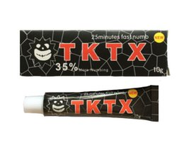 Wholesale 2016 New Arrival TKTX Anesthetic More Numbing min Fast Tattoo Cream for Tattoo Body Tattoo Making Supply Eyebrow Body Waxing Piercing