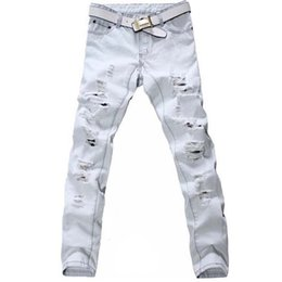 Discount Boys White Jeans | 2017 White Jeans Boys on Sale at ...