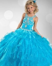 Discount Discount Pageant Dresses - 2016 Discount Girls Pageant ...