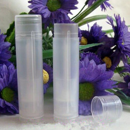 Wholesale 100 Lip Balm Tube g oz Deodorant Container Lotion Bar Twist Empty Lipstick