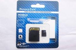 256/128/64/32 TF карта SD / 16GB Micro Memory MicroSDXC SDHC карты для мобильных телефонов Tablet PC Цифровые фотокамеры с SD-адаптером