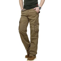 Mens Bootcut Cargo Pants Online | Cotton Mens Bootcut Cargo Pants ...