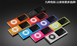 online shopping Newest Portable inch music player FM radio MP4 th with Earphone USB Cable Retail Box Support Micro SD TF Cards