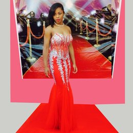 Discount New Rihanna Red Dress  2017 New Rihanna Red Dress on ...
