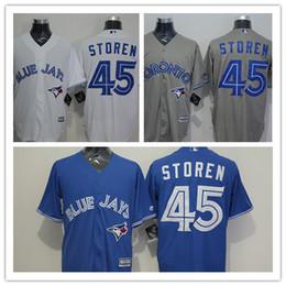 online shopping 2016 Newest Hot Sale Toronto Blue Jays Drew Storen Jersey For Men Blue Grey White Baseball Jerseys Shirt Best Quality Stitched