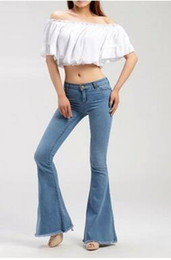Light Wash Flare Jeans Online | Light Wash Flare Jeans for Sale