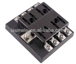 discount waterproof fuse box waterproof fuse box on at 8 way terminals circuit car auto fuse holder box blade fuse box holder block dc32v atc ato waterproof shipping