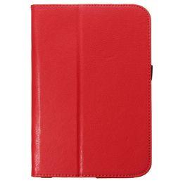 Флип PU кожаный чехол Подставка для Samsung Galaxy Для Таба T350 8.0 дюйма Wallet Чехол Bag