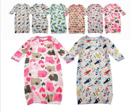 Wholesale hot sale Baby Cotton sleeping bag Pajamas sleepers jumpsuit kids dot shape rompers for Kids children