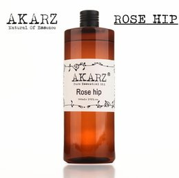 Wholesale AKZRZ Famous Brand Pure Rose Hip Oil Natural Aromatherapy High Capacity Skin Body Care Massage Spa Rose Hip Essential Oil Y006