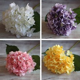 Christmas Decorations Yellow French Rose Artificial Silk Peony Flower Arrangement Room Hydrangea Wedding Home Decor Party Party Supplies